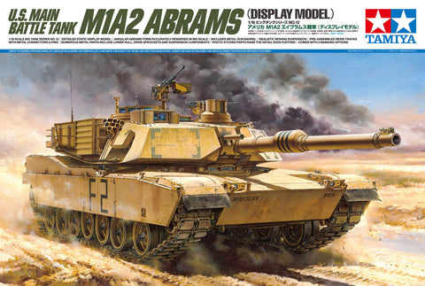 Tamiya Military 1/16 US Abrams M1A2 Kit
