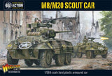 Warlord Games 28mm Bolt Action: WWII M8/M20 Greyhound US Scout Car Kit