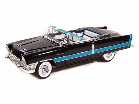 Road Legends 1/18 1955 Packard Caribbean Convertible (Black/Turquoise)