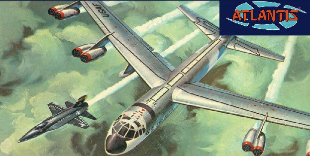 Atlantis Aircraft 1/175 B52 Bomber & X15 Aircraft (formerly Revell) Kit