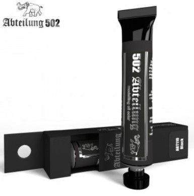 Abteilung 502 Weathering Oil Paint Black 20ml Tube