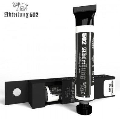 Abteilung 502 Weathering Oil Paint Faded White 20ml Tube