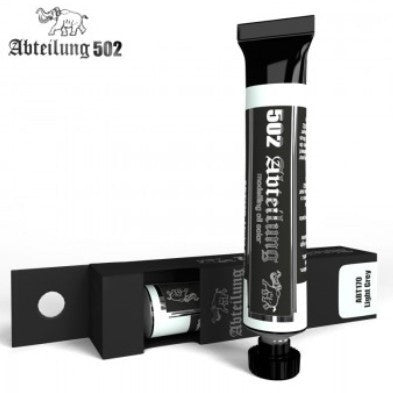 Abteilung 502 Weathering Oil Paint Light Grey 20ml Tube