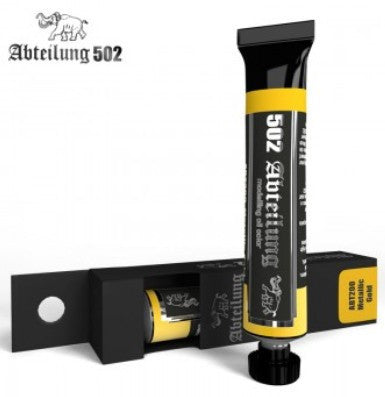Abteilung 502 Weathering Oil Paint Metallic Gold 20ml Tube