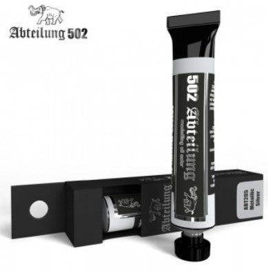 Abteilung 502 Weathering Oil Paint Metallic Silver 20ml Tube