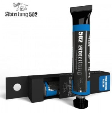Abteilung 502 Weathering Oil Paint Intense Blue 20ml Tube