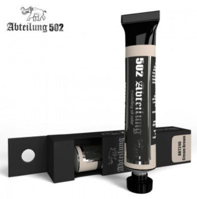 Abteilung 502 Weathering Oil Paint Cream Brown 20ml Tube