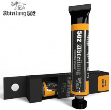 Abteilung 502 Weathering Oil Paint Ochre 20ml Tube