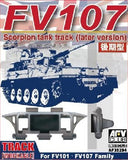 AFV Club Military 1/35 FV107 Scimitar CVR(T) Late Version Family Workable Track Links Kit