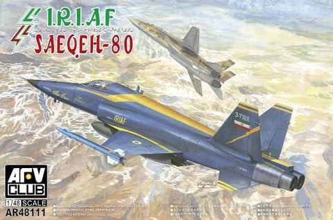 AFV Club Aircraft 1/48 Iran Saeqeh-80 IRI Air Force Jet Fighter Kit