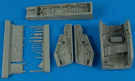 Aires Hobby Details 1/32 F100D Wheel Bay For TSM