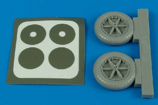 Aires Hobby Details 1/32 Bf109E Wheels For EDU