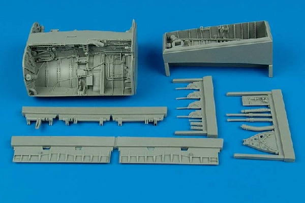 Aires Hobby Details 1/32 F8 Wheel Bay For TSM