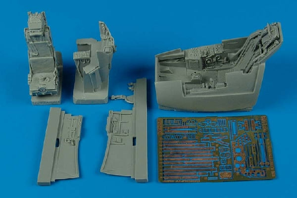 Aires Hobby Details 1/32 BAe Lightning F3 Cockpit Set For TSM
