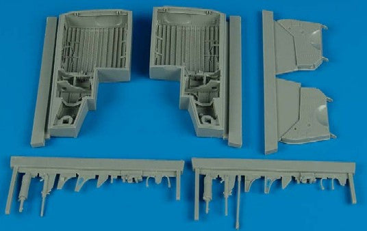 Aires Hobby Details 1/32 P47D Wheel Bay For HSG (Resin)