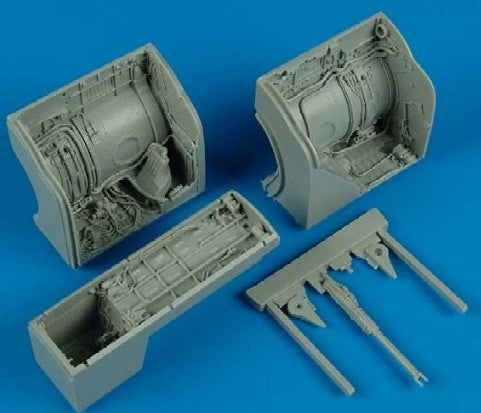 Aires Hobby Details 1/32 MiG23 Wheel Bay For TSM (Resin)