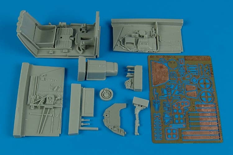 Aires Hobby Details 1/32 Bf109F2/4 Cockpit Set For HSG
