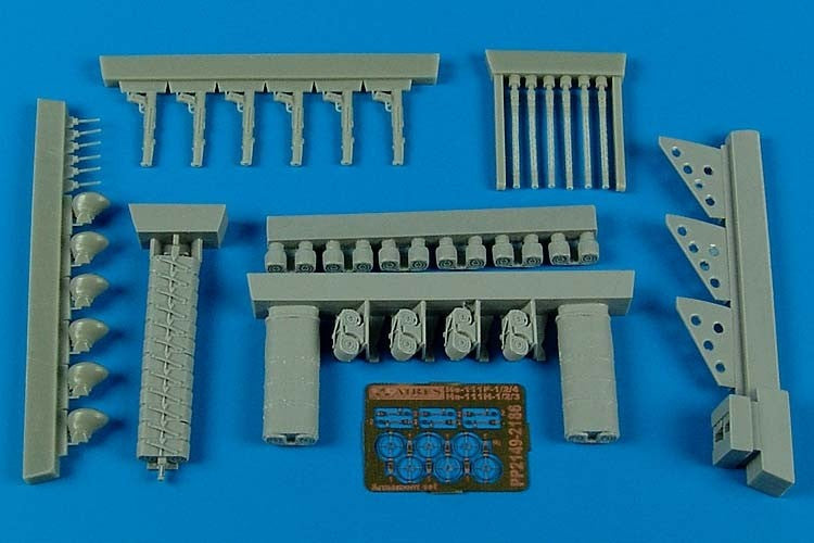 Aires Hobby Details 1/32 He111P4/H3 Early Armament Set For RVL