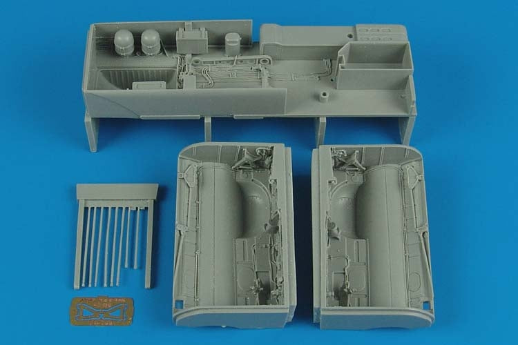 Aires Hobby Details 1/32 Su25K Frogfoot A Wheel Bays For TSM