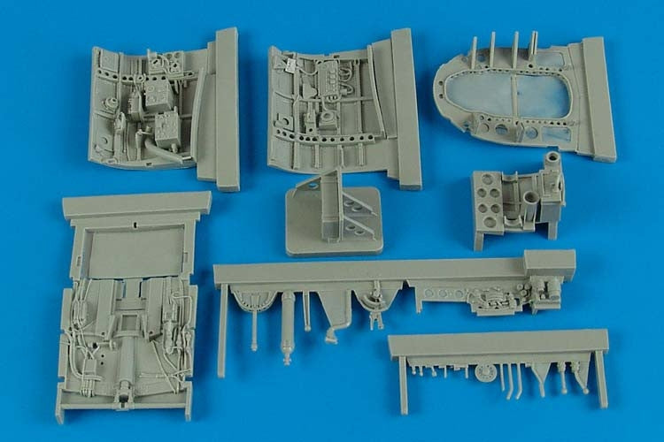 Aires Hobby Details 1/32 A6M2b Cockpit Set For TAM (Resin)