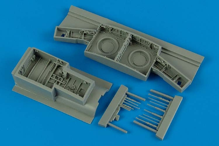 Aires Hobby Details 1/32 F86F Wheel Bay For KIN & ITA (Resin)