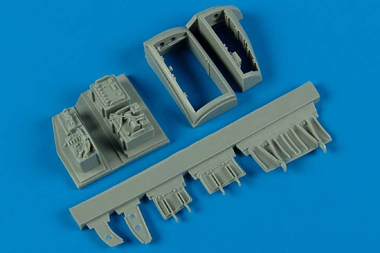 Aires Hobby Details 1/32 A4E/F Electronic Bays For TSM (Resin)