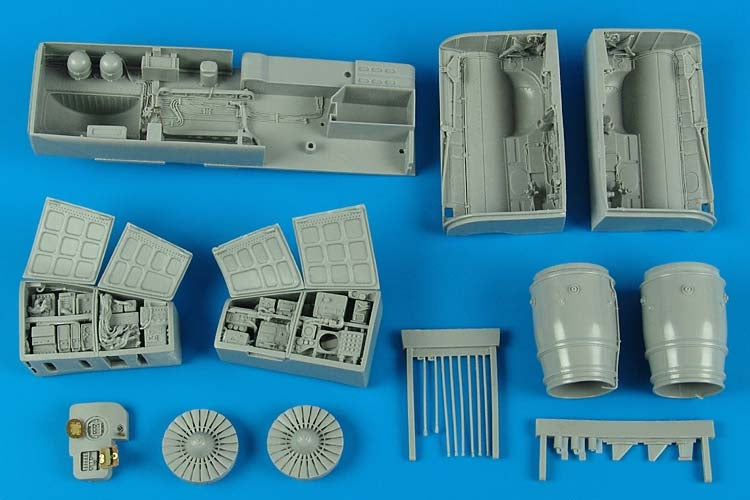 Aires Hobby Details 1/32 Su25K Frogfoot A Detail Set For TSM