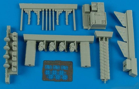 Aires Hobby Details 1/32 He111P1/2, H1/2 Armament Set For RVL
