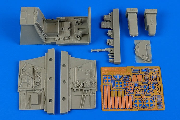 Aires Hobby Details 1/32 Bf109G6 Cockpit Set For RVL