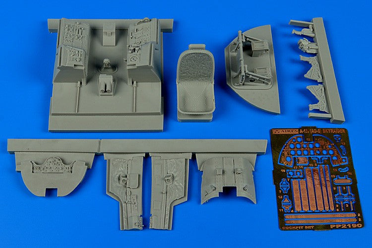 Aires Hobby Details 1/32 A1H (AD6) Skyraider Cockpit Set For TSM