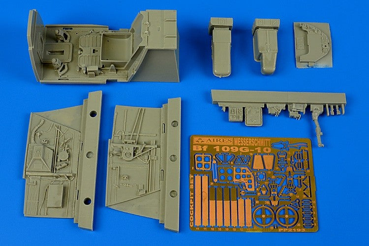 Aires Hobby Details 1/32 Bf109G10 Cockpit Set For RVL
