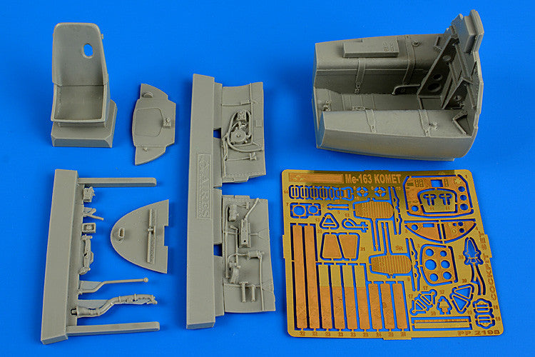 Aires Hobby Details 1/32 Me163B Komet Cockpit Set For MGK