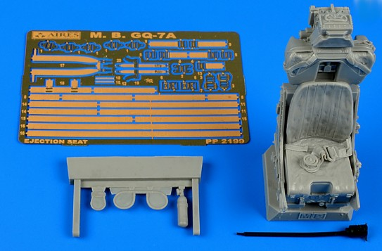 Aires Hobby Details 1/32 MB Mk GQ7A Ejection Seat For ITA