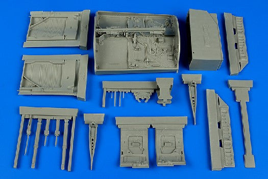 Aires Hobby Details 1/32 CF104G Starfighter Wheel Bay For ITA (Resin)