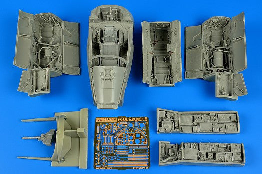 Aires Hobby Details 1/32 A7E Corsair II Late Detail Set For TSM