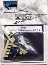 Aires Hobby Details 1/48 7.92mm MG15 Gun (Resin)