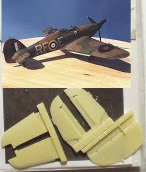 Aires Hobby Details 1/48 Hawker Hurricane Control Surfaces For HSG
