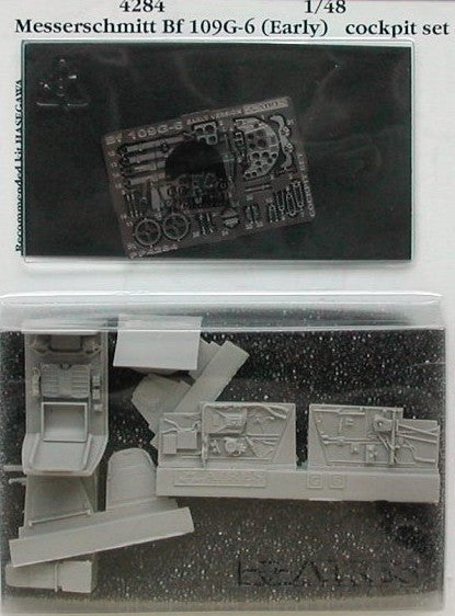 Aires Hobby Details 1/48 Bf109G6 Early Cockpit Set For HSG