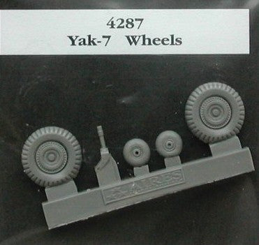 Aires Hobby Details 1/48 Yak7 Wheels & Paint Mask