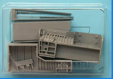 Aires Hobby Details 1/48 RA5C Vigilante Wheel Bays For TSM (Resin)
