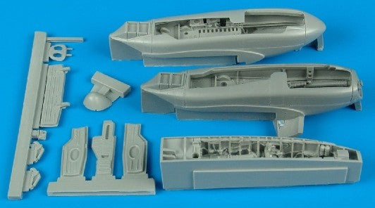 Aires Hobby Details 1/48 A10A Thunderbolt II Wheel Bay For ITA