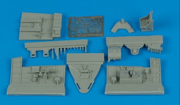 Aires Hobby Details 1/48 F6F3 Cockpit Set For EDU