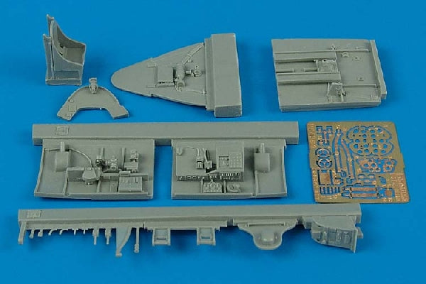 Aires Hobby Details 1/48 F6F5 Cockpit Set For EDU