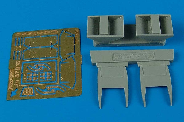 Aires Hobby Details 1/48 Ju87D Stuka Air Coolers For HSG