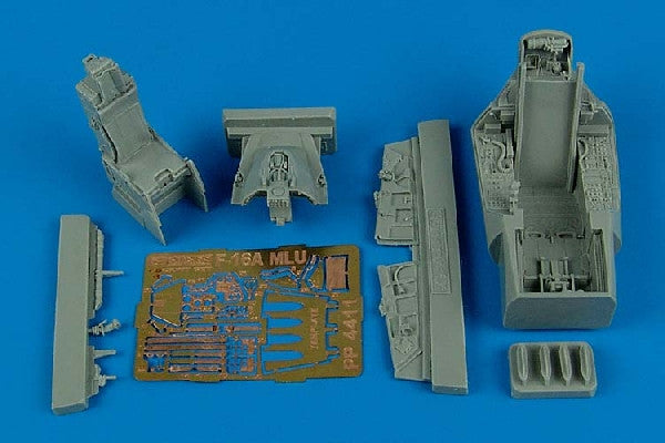 Aires Hobby Details 1/48 F16A MLU Falcon Cockpit Set For HSG