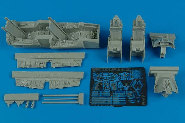 Aires Hobby Details 1/48 F16D Block 30 Falcon Cockpit Set For HSG