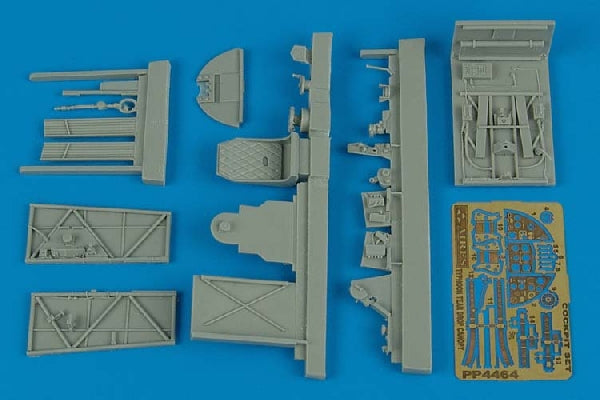 Aires Hobby Details 1/48 Typhoon Mk IB Tear Drop Canopy Cockpit Set For HSG