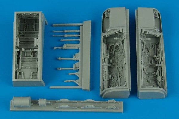Aires Hobby Details 1/48 A7 Wheel Bay For HBO (Resin)