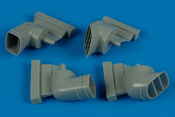Aires Hobby Details 1/48 Harrier Gr5/7 Exhaust Nozzles For HSG (Resin)