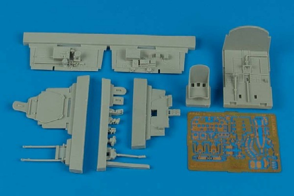 Aires Hobby Details 1/48 P47M Thunderbolt Cockpit Set For TAM